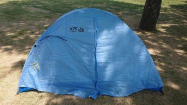【登山用具】テント プロモンテ VL26を導入した。