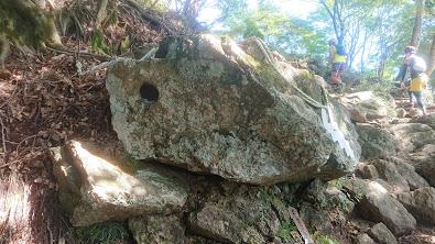 大山天狗の穴