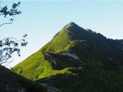西岳への尾根