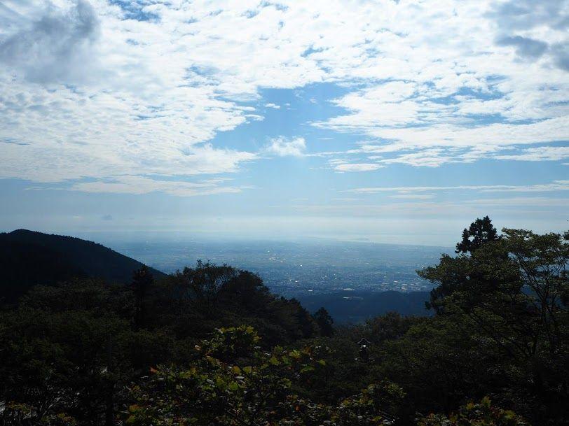大山下社からの眺め