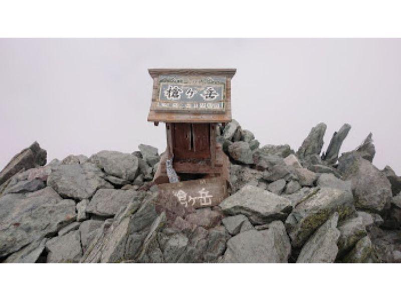 槍ヶ岳の神社