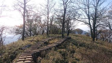 丹沢ー塔ノ岳の尾根1