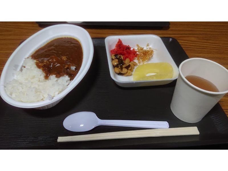 蛭ヶ岳の夕食(カレー)