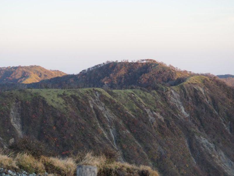 蛭ヶ岳からみる丹沢主稜1
