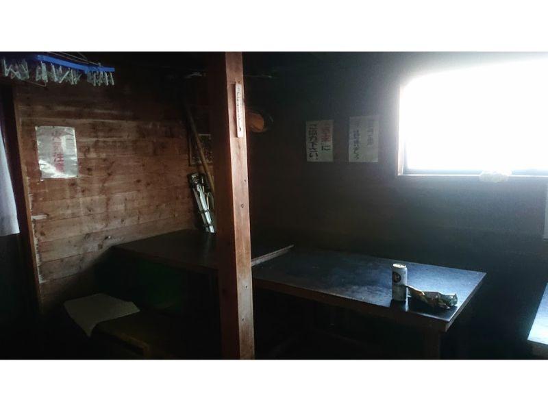 蛭ヶ岳の自炊室