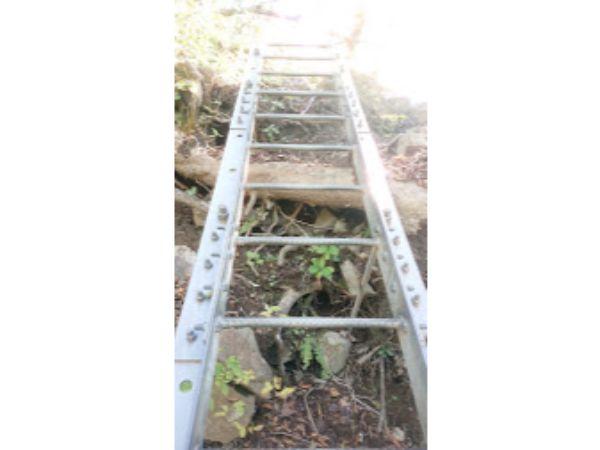 丹沢主稜縦走のはしご