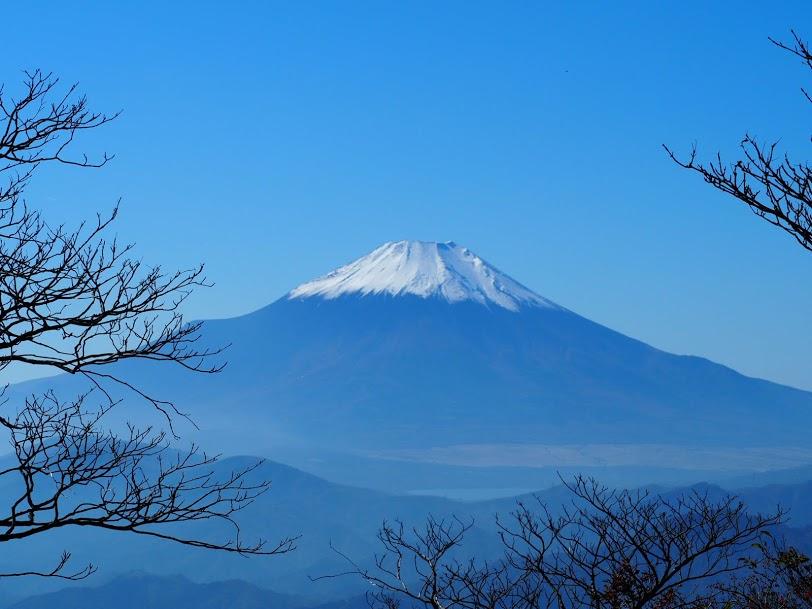 檜洞丸からの富士山