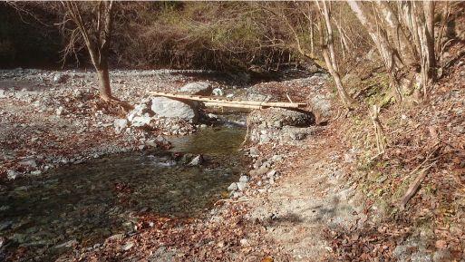 西山林道の橋