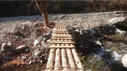 西山林道の橋2