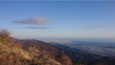 【丹沢】大倉から小丸尾根経由で塔ノ岳登山をした