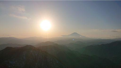 塔ノ岳からの眺め