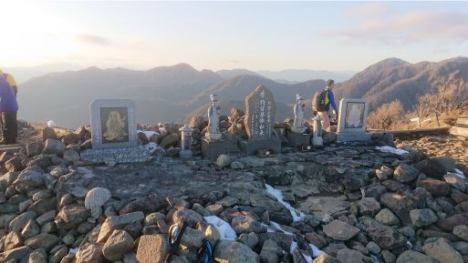 塔ノ岳山頂