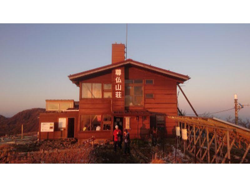尊仏山荘の外観