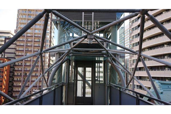 愛宕神社のエレベーター