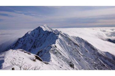 【鳥取】大山 厳冬期登山 夏山登山道から山頂へ2020/01