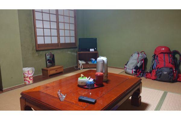 大山館の客室