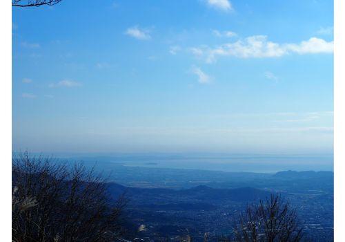櫟山からの眺め