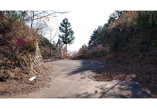 途中の車道