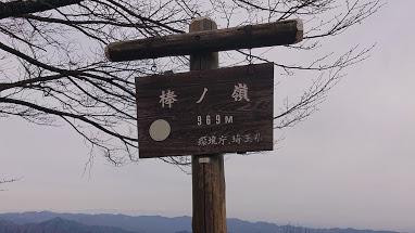 棒ノ折山山頂