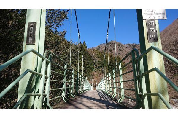 河内川の橋