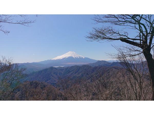 菰釣山からの富士山
