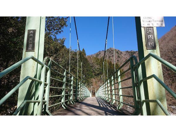 河内川を渡る橋