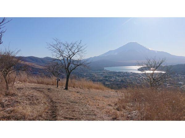 高指山からの山中湖
