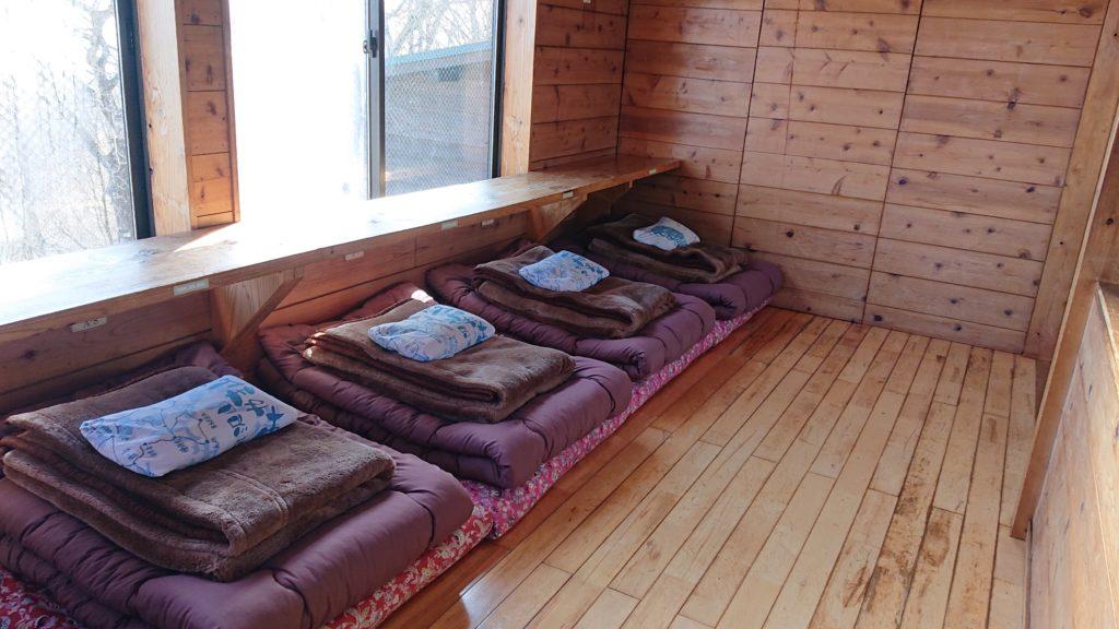 みやま山荘寝室