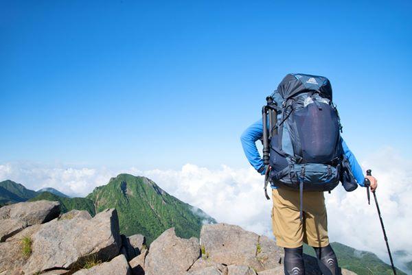 登山者の図