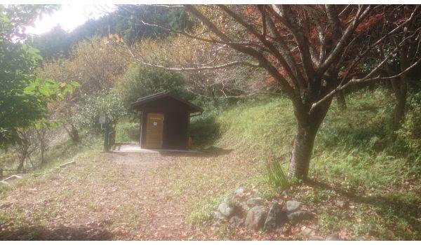 頭高山のトイレ