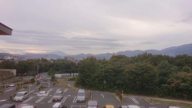 富士見の湯から富士山の眺め