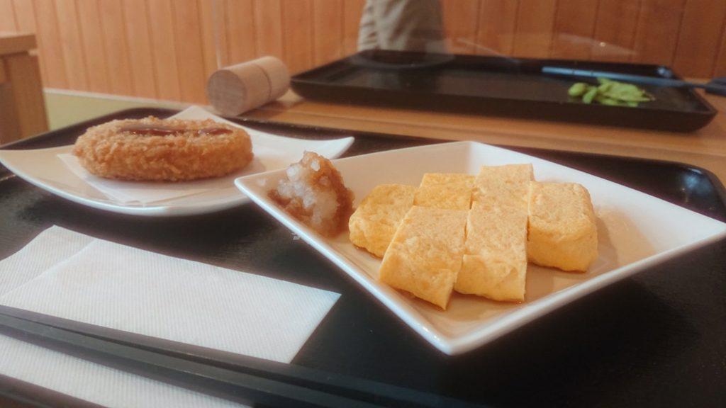 富士見の湯の卵焼き