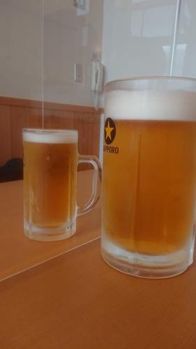 富士見の湯の大ビール