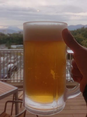 富士見の湯で乾杯