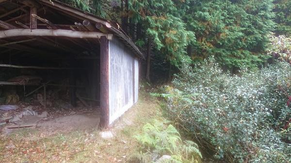 登山口への入り口