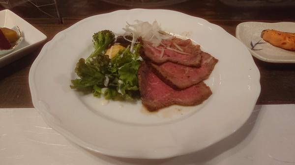 瑞牆山荘の食事1