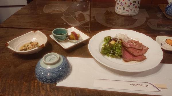 瑞牆山荘の食事2