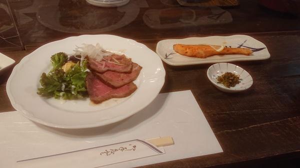 瑞牆山荘の食事3