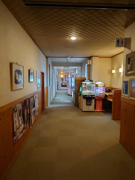 武甲温泉の廊下