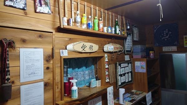 木曾殿小屋の売店